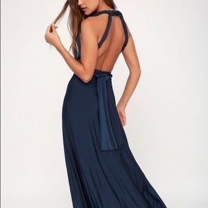 "Lulus ""Always Stunning Convertible Dress"" NWT"